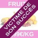 Dragées aux fruits déclassées