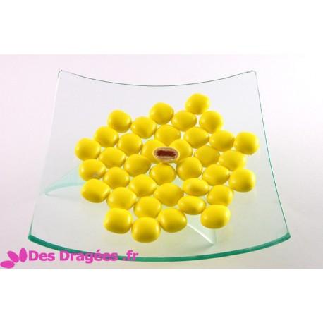Dragées tarte citron, jaune, déclassées
