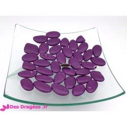 Dragées chocolat violet, déclassées