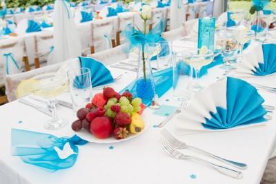 comment décorer table mariage