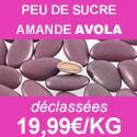 Dragées amande Avola 45% déclassées